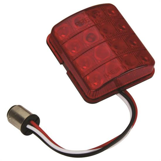 1951-1952 Chevy Red LED Lens / Tail Light