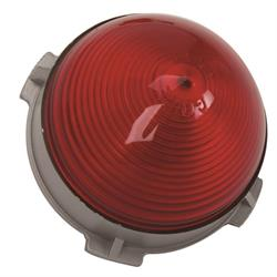 1953 Chevy Center Stop / Tail Light Lens, Red Plastic