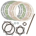 Fit right, Correct range of gaskets. Makes the job a snap.