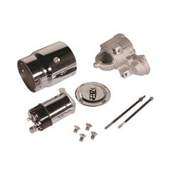 King Chrome Chevy Starter Dress Up Kit, Straight Bolt