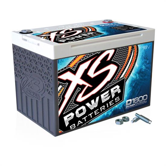 XS Power D1600 16 Volt Battery, Deep Cycle