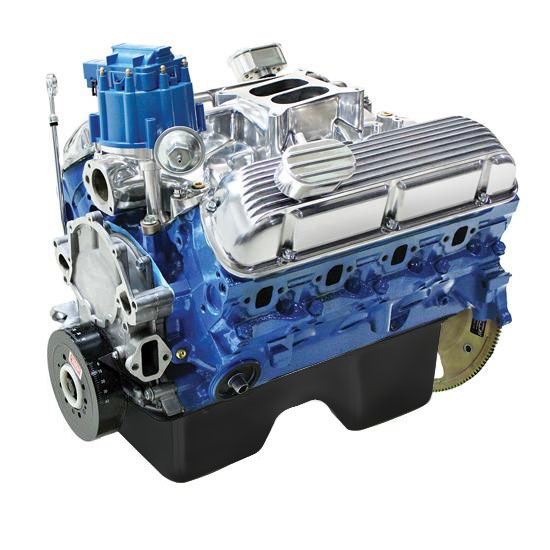 blueprint 302 ford hot rod crate engine w rear sump pan 300hp 320ft lb ebay. Black Bedroom Furniture Sets. Home Design Ideas