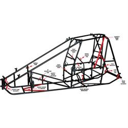 Eagle Motorsports® Floor Pan Strap