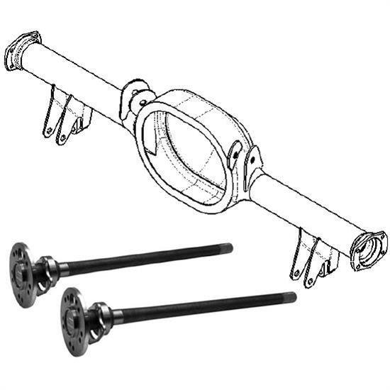 9 Inch Ford Housing and 4-Bar Rear Supsension Kit for Model A Frame