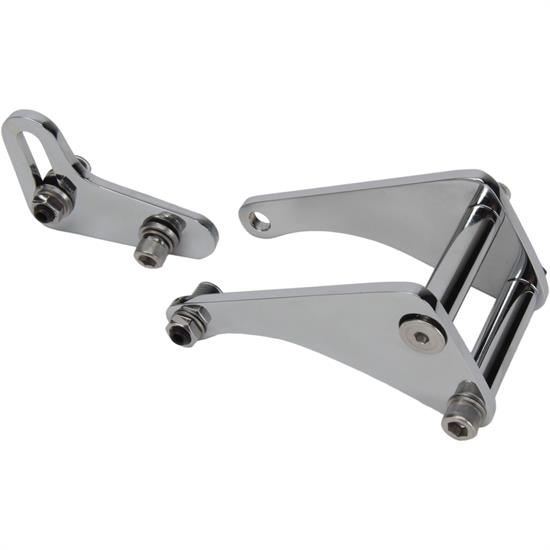 Bills Hot Rod Co. SB Side Mount Power Steering Bracket, Short