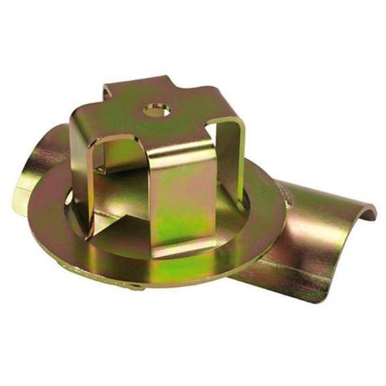 Lightweight coil spring mount offset