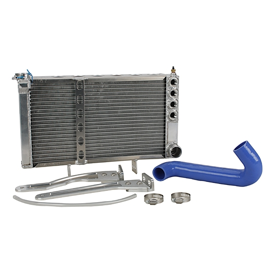 FSR Engine Mount Radiator Kit, Double Row Core