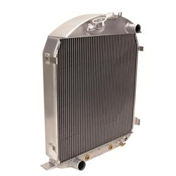 Griffin 7-70019 Deluxe Alum Radiator for 28-29 Ford Chassis w/ SB Ford