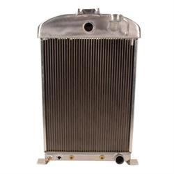 Griffin 7-70082 Dlx Alum Radiator for 33-34 Ford Chassis w/ S/B Chevy