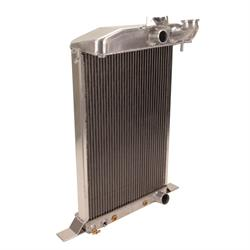 Griffin 7-70086 Deluxe Alum Radiator, 38 Dlx Ford Chassis w/S/B Chevy