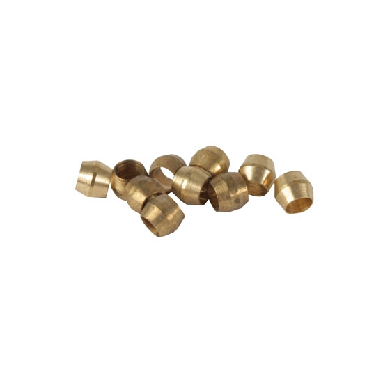 Ferrules for Brass Compression Fittings, Pk/10
