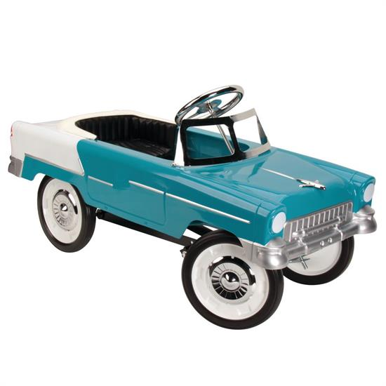 1955 Blue & White Chevy Pedal Car