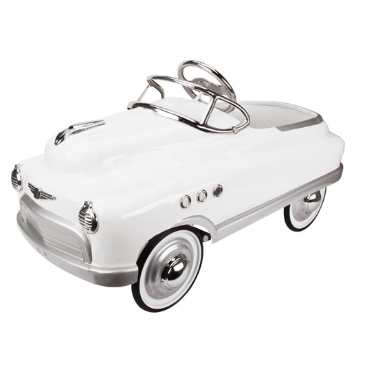 Murray® Comet Style Pedal Car - White