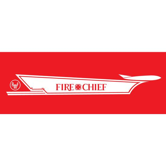 AMF Star Grille Fire Chief 1959-60 Graphic