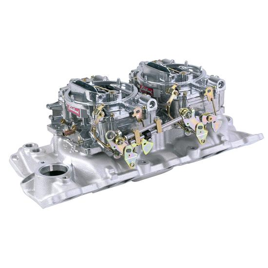 Edelbrock Small Block Chevy Dual Quad Set-Up