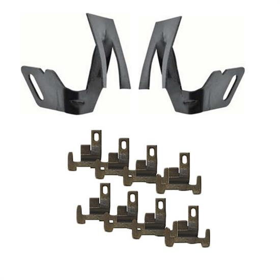 Front Windshield Lower Molding Clip Set, 1968-79 Nova, 10 Piece