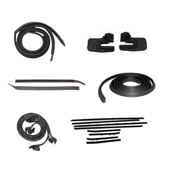 1969 Camaro/Firebird Weatherstrip Kit, Replacement Windowfelts