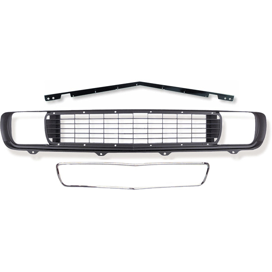 1969 Camaro RS Grille Kit, 3 Piece