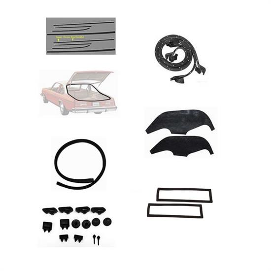 Complete Weather Stripping Kit for 1973-74 Nova 2-Door