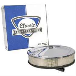 Classic Headquarters W-813 19 Open Element Air Cleaner, 1966-72 Chevy