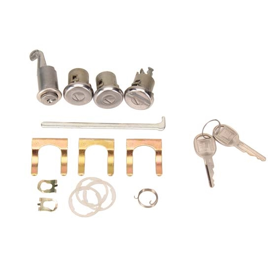 Classic Auto Locks CL-129 1968 Camaro/Firebird Glove/Trunk/Door Kit