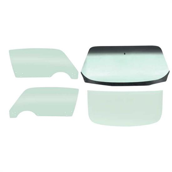 D&R Classic Q00005-T Complete 4-Piece Glass Kit, Tinted,70-74 Camaro