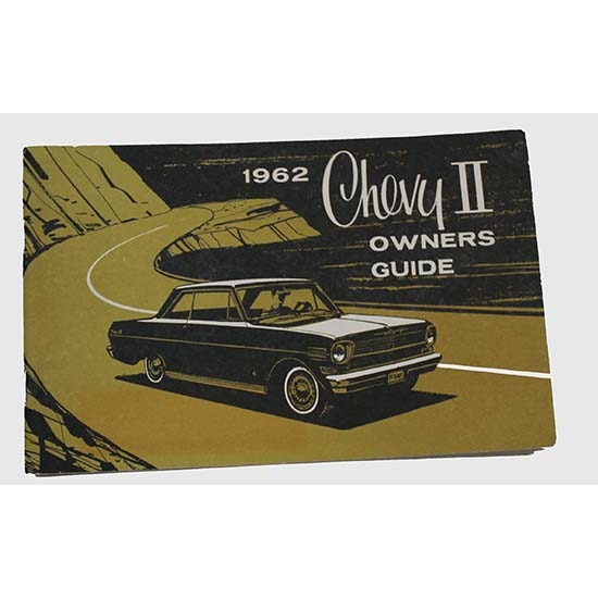 Dave Graham 62-NOM 1962 Chevy II Owners Manual