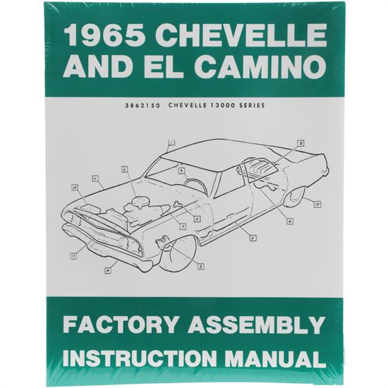 Dave Graham 65-CHFA 1965 Chevelle Assembly Manual
