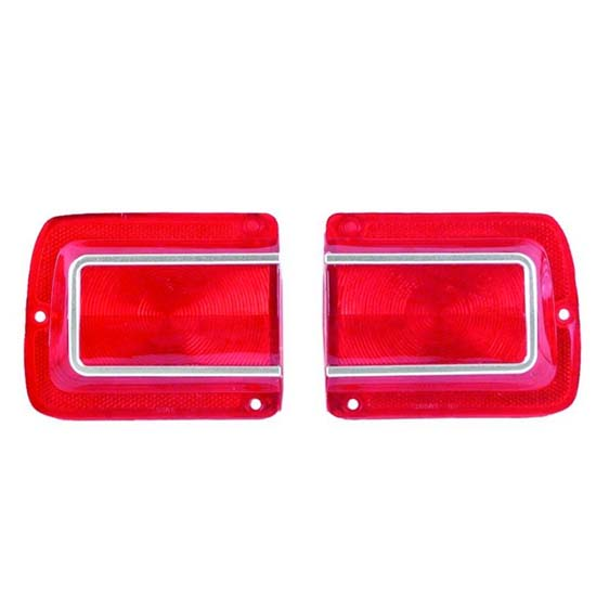 Dynacorn TL65AN Tail Lamp Lens, 1965 Chevelle, Pair