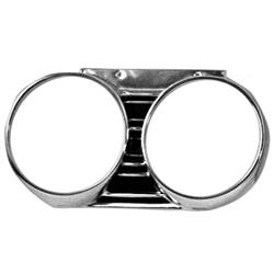 Dynacorn M1386 Head Lamp Bezels, RH, 1967 Chevelle