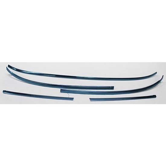 dynacorn m1025a 5 piece windshield molding trim kit for