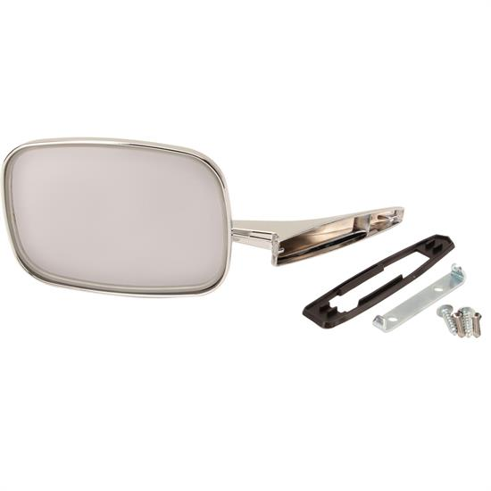 Dynacorn M1031 Outer Door Mirror, Rectangular, LH , 1968-69 Chevelle