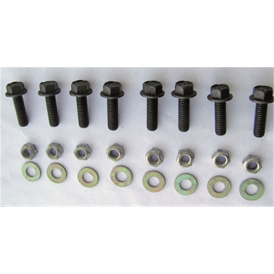 Engine Frame Mount Bolt Kit, 16 Piece, 1967-69 Camaro, 68-74 Nova