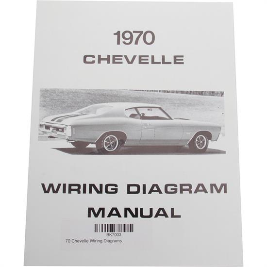 jim osborn mp0097 1970 chevelle wiring diagrams ebay. Black Bedroom Furniture Sets. Home Design Ideas