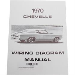 Jim Osborn MP0097 1970 Chevelle Wiring Diagrams
