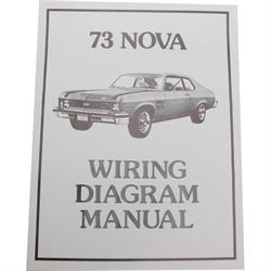 Jim Osborn MP0173 1973 Wiring Diagrams Chevrolet by the Numbers