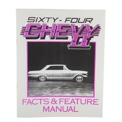 Jim Osborn MP0304 1964 Chevy II Nova Illustrated Facts Manual