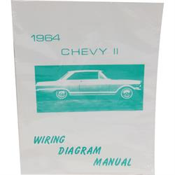 Jim Osborn MP0103 64 Chevy II Nova Wiring Diagrams