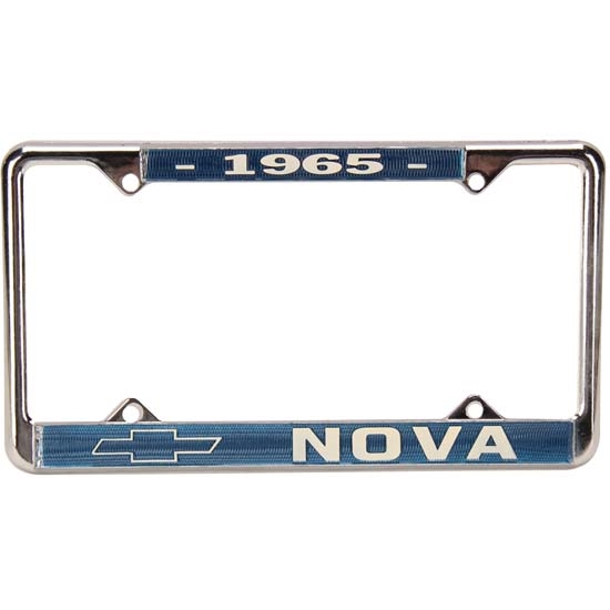 OER LP1965 1965 Chevy II Nova License Plate Frame