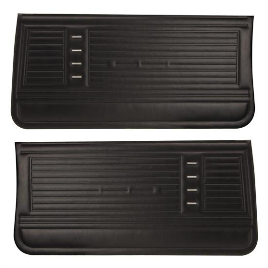 Pui Pd230 1967 Chevelle Preassembled Front Door Panels Ebay