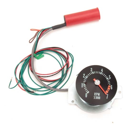 how to add a tachometer to a car