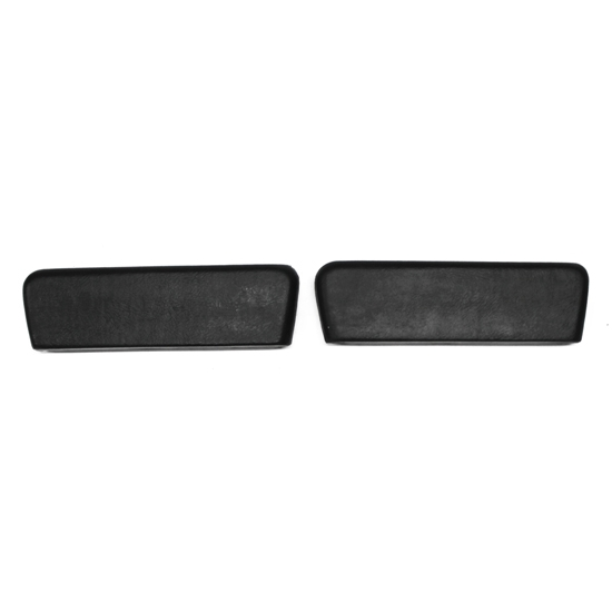 PUI ARP2-55 62-64 Nova/64 Chevelle Rear Arm Rest Pads, Black, Pair