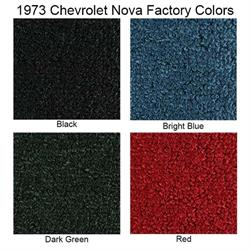 ACC 1968-1973 Chevrolet Nova Loop Floor Mats, 4 Piece