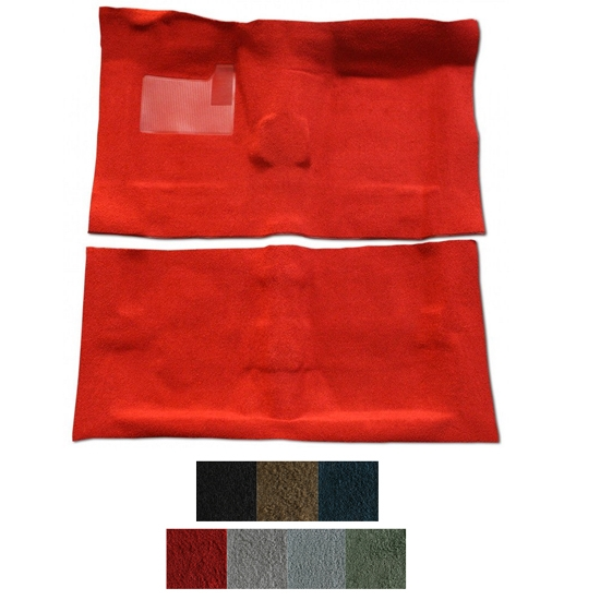 ACC 1974 Chevrolet Nova 2 Door 4 Speed Cutpile Carpet Kit