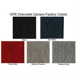 ACC 1976-1981 Chevrolet Camaro 4 Speed Console Cutpile Carpet Kit