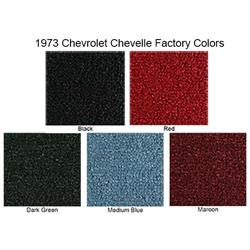 ACC 1973 Chevrolet Chevelle Loop Floor Mats, 4 Piece