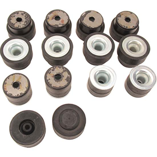 Dynacorn M1454 Body Bushings, 1968-72 Chevelle/GTO Convertible