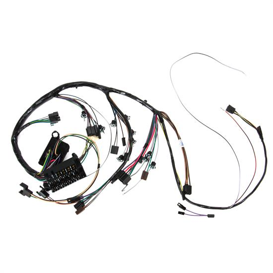 m u0026h electric 10535 dash wiring harness w  gauges  1967 chevelle