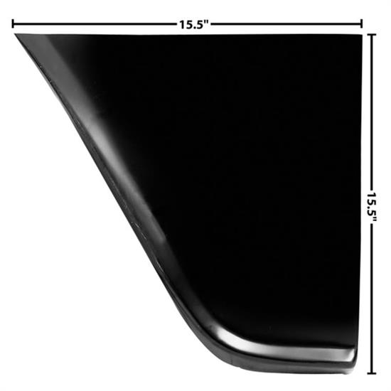 Dynacorn 1097QK Rear Lower Fender Panel, LH, 1960-66 Chevy Pickup
