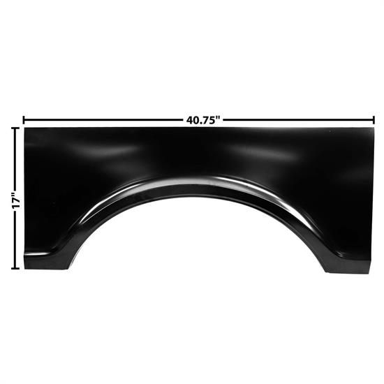Dynacorn 1185 Bed Center Wheel Arch, LH, 1967-72 Chevy Pickup